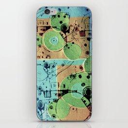 Vibrant Mechanics  iPhone Skin