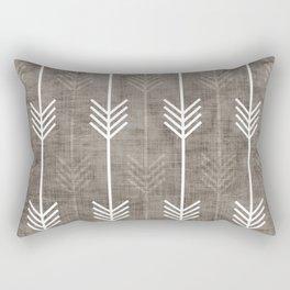 dirty arrows Rectangular Pillow