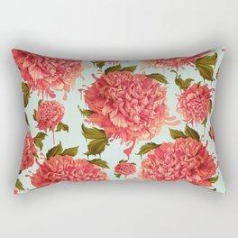 A Splash of Peony, A Dash of Color Rectangular Pillow