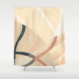 Converging Path Shower Curtain