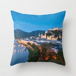 SALZBURG 09 Throw Pillow