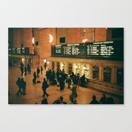 Grand Central Canvas Print