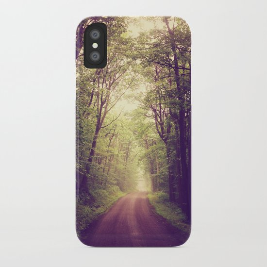 The Sound of Fog Coming Down iPhone Case