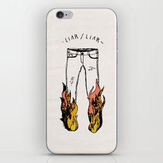 LIAR LIAR iPhone & iPod Skin