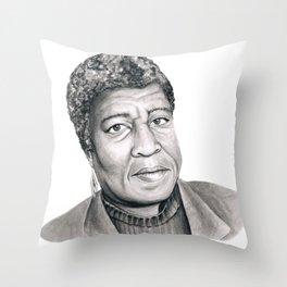 Octavia Butler Throw Pillow