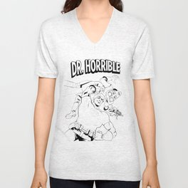 Doctor Horrible Unisex V-Neck