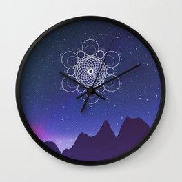 Cosmic Alignment  Wall Clock