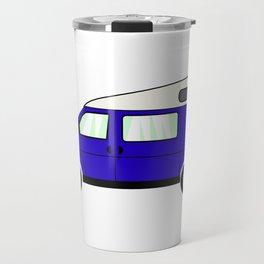 Blue Campervan Travel Mug