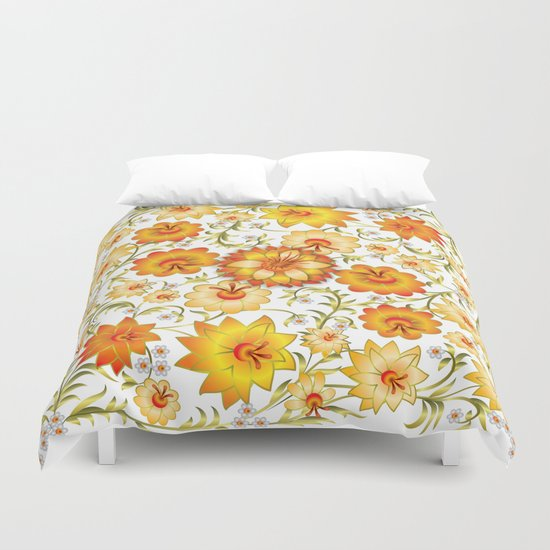 Shabby flowers #13 Duvet Cover