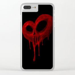 Tainted Love Clear iPhone Case