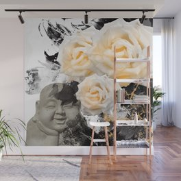 Wake Up And Smell The Roses Wall Mural
