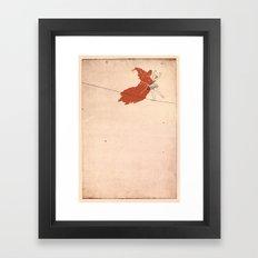 Dance with Death Framed Art Print