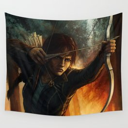 Katniss Everdeen Wall Tapestry