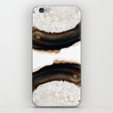 Agate Translucent #Brown #1 #decor #art #society6 iPhone & iPod Skin