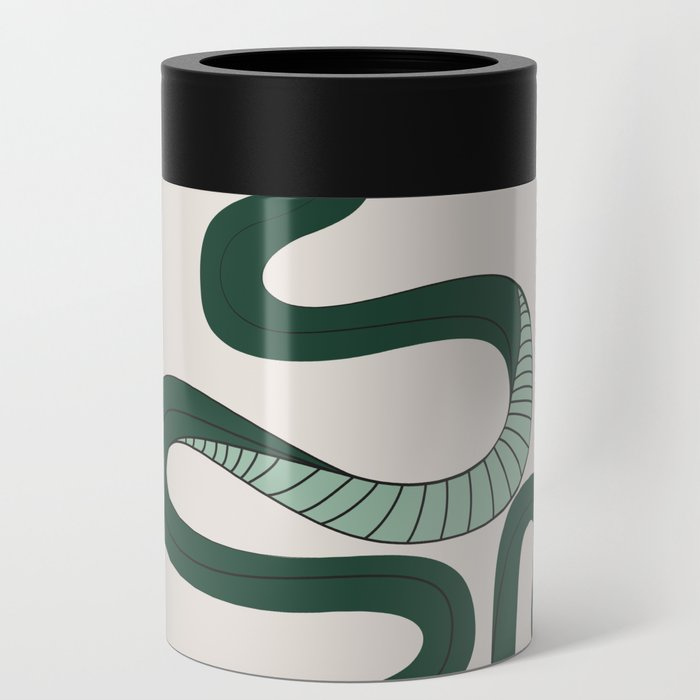 Green Snake Can Cooler