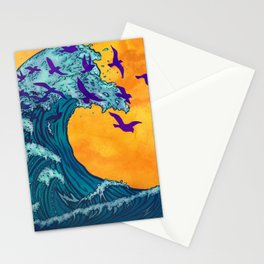 Wave of Change Stationery Cards