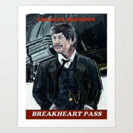 Breakheart Pass Art Print
