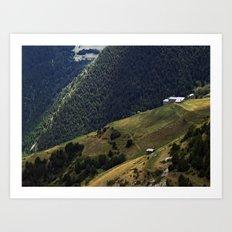 Valls d'Andorra Art Print