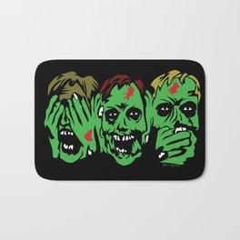 3 Zombies Bath Mat