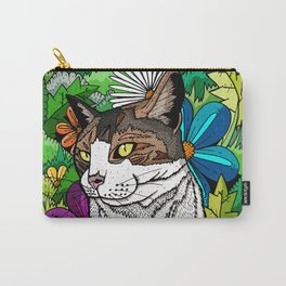 Ellie in the woods Carry-All Pouch