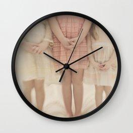 pretty little maidens Wall Clock