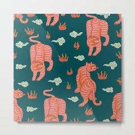 Bengal tigers Metal Print