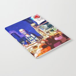 New York at Night Notebook