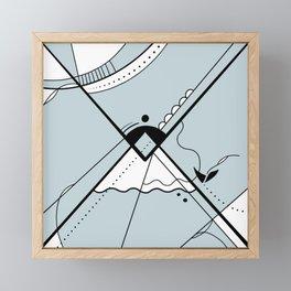 Upside Framed Mini Art Print