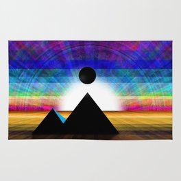 An Unknown Visitation of the Pyramids in a Land of Confusion Rug
