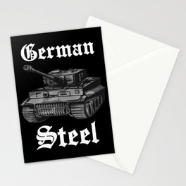 tiger tank german army t-shirt soldier gift Stationery Cards
