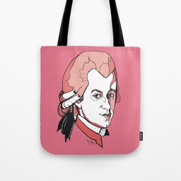 Mozart Composer Mozart Music Composer Vienna Symphony Conductor Italian German English W.A.Mozart Ar Tote Bag