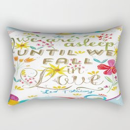Until We Fall In Love Rectangular Pillow