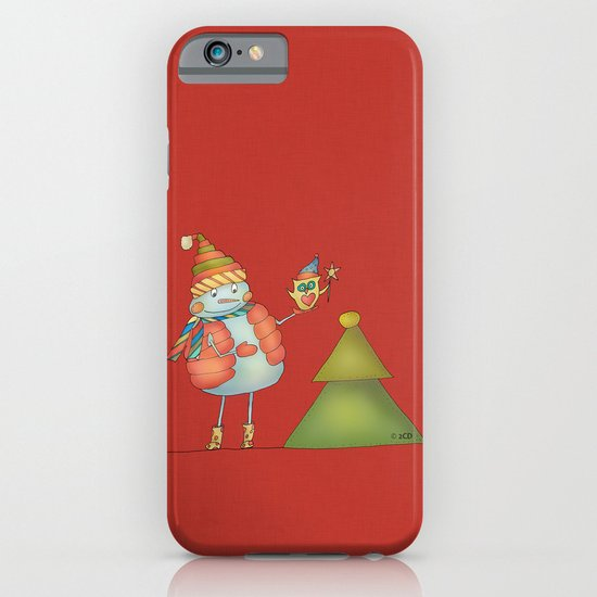 Friends keep warm - red iPhone & iPod Case