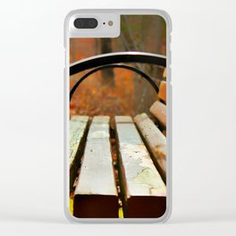 Have a seat Clear iPhone Case