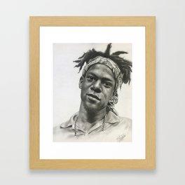Jean-Michel Basquait Framed Art Print