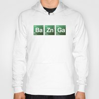 bazinga Hoodies featuring Breaking Bazinga by dutyfreak