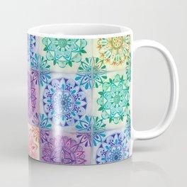 Mandala Rainbow Coffee Mug