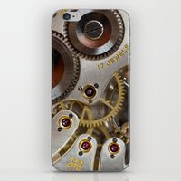 clockwork orange iPhone & iPod Skins featuring Clockwork Orange by Cornish Seascapes