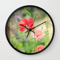 notebook Wall Clocks featuring A gardeners notebook by Wood-n-Images