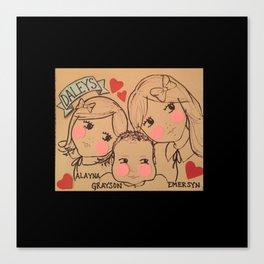 Cousins - Daleys Canvas Print