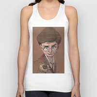 harry Tank Tops featuring Harry! by nachodraws
