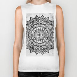BLACK JEWEL MANDALA Biker Tank