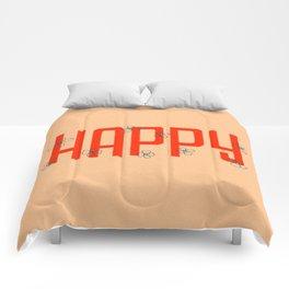 Happy Flowers Comforters