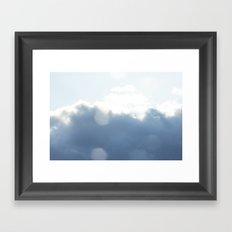 Almost summer sky Framed Art Print