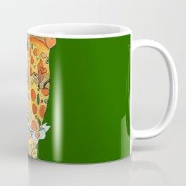 true love pizza gay heart Coffee Mug