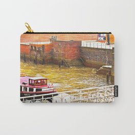 Crossing Hamburg by water Carry-All Pouch
