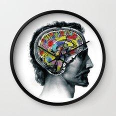 Brain colors fashion Jacob's Paris Wall Clock