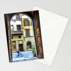 Firenze through a door Stationery Cards