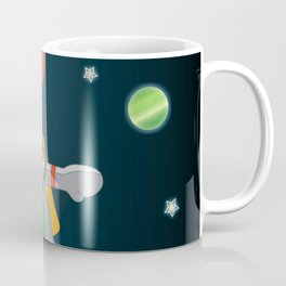 Space Mouse floating in space Coffee Mug