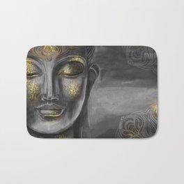 Buddha Gray Bath Mat